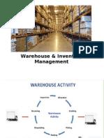 Warehouse Management-Session 1 & 2-Aug 23 & 24
