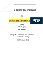 SRS for School Management Software