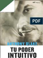 Tu poder intuitivo - Anthony Blake