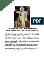 The Media Has Given Obama False Power