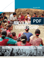 Country Ownership Paper