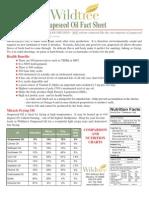 Grapeseed Oil Fact Sheet