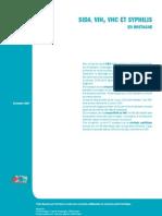SIDA, VIH, VHC Et SYPHILIS en Bretagne - résultats 2006