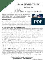 TRACT Cholet Poste 12 D-cembre 2011