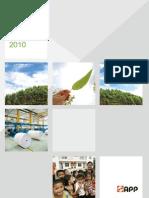 APP-China Sustainability Report 2010