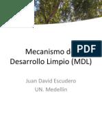 Mecanismo Del Desarrollo Limpio (MDL)