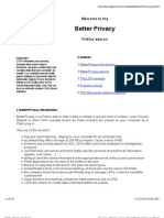 Better Privacy Help