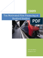 24309712 Tax Motivated Film Financing at Rexford Studios