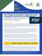 USO DE TÉCNICAS DE EVACUACIÓN DE TUBERÍAS PARA REDUCIR
