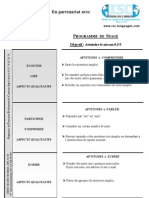 DOCUMENTS ISC Programme de Stage