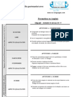 DOCUMENTS ISC Formation en Anglais Niv2.5