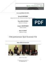 Compte Rendu CPSEC 15  mars 2011