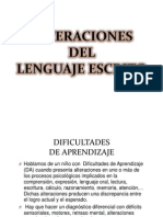 Alteraciones Del Lenguaje Escrito 1