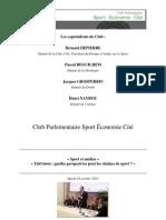 Compte-Rendu CPSEC 18 Octobre Sport Et Medias