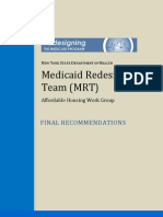 MRT Housing Final Recommendations