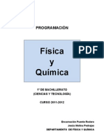 2011-12 - Física y Química - 1º Bachillerato