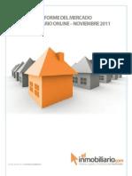 Informe del Mercado Inmobiliario Noviembre 201