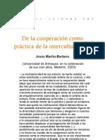 De la cooperación como práctica de interculturalidad