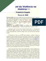 O Papel da Violência na História -  F. Engels