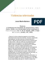 Violencias televisadas