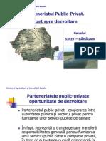 Canal Siret Baragan Parteneriat Public Privat