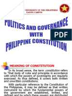 Politics and Governance With Phil Constitution 091020093200 Phpapp02