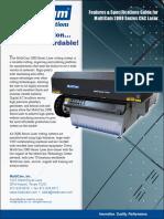 MultiCam 2000-Series CNC Laser