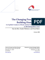 Changing Prospects for Building Home Equity