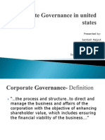 Corporate Governance in USA