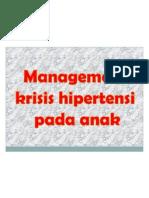 HIPERTENSI KRISIS ANAK