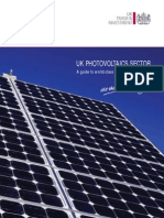 UK Photovoltaics Sector