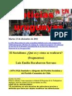 Noticias Uruguayas Martes 13 de Diciembre de 2011