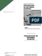 Preparacion de Informes Escritos - Guia Del Estudiante - UNAM