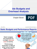Chap11 - Flexible Budgets and Overhead Analysis