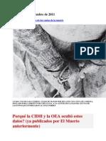 CIDH Desclasifica Fotos de Los Vuelos de La Muerte