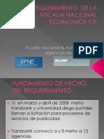 Requerimiento de La Fiscalia Nacional Economica Contra Achap