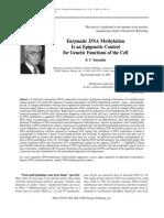 Enzymatic DNA Methyl at Ion
