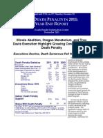 Death Penalty 2011