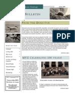 MVZ Bulletin Fall 2008