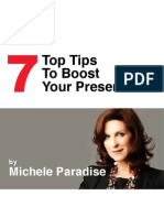 FB-Michele Paradise-7 Tips Boost Presentation