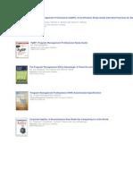 PgMP Books