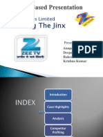 Zee Telefilms Limited Breaking The Jinx