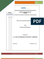 TÉCNICAS DE PLANEACIÓN