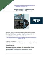 Apostila TRE SP Analista Judiciário - Área Administrativa 2011-12
