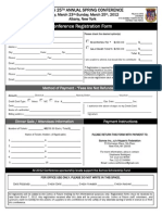 Registration Form 2012