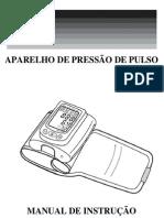 Manual aparelho de pressão digital de pulso Bioland 3001
