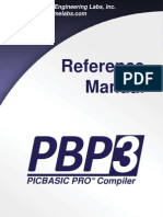 PBP Reference Manual