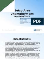 Metro Unemployment Data