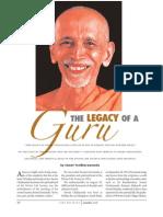 Legacy of a Guru- Swami Ytidharmanand