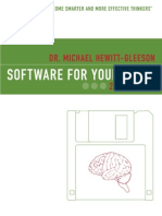 """""""Software of the Brain --Dr. Maichal Gleeson"""""""